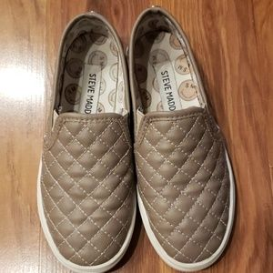 Steve Madden Girls Size 1 Boat Shoes